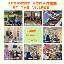 Resident Activities at The Village